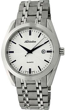 Швейцарские наручные  мужские часы Adriatica 8202.51B3Q. Коллекция Gents