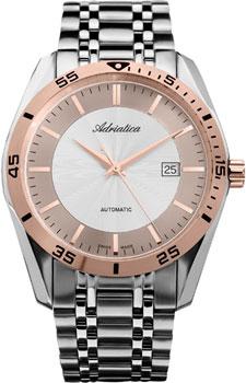 Швейцарские наручные  мужские часы Adriatica 8202.R113A. Коллекция Automatic