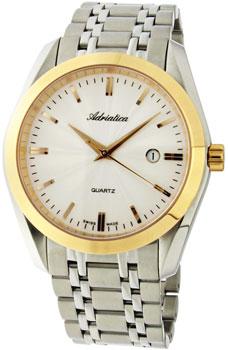 Швейцарские наручные  мужские часы Adriatica 8202.R113Q. Коллекция Gents