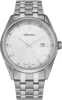 Швейцарские наручные  мужские часы Adriatica 8204.5123Q. Коллекция Gents
