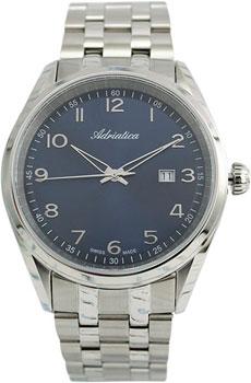 Швейцарские наручные  мужские часы Adriatica 8204.5125Q. Коллекция Gents
