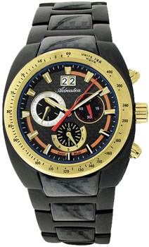 Швейцарские наручные  мужские часы Adriatica 8206.X116CH. Коллекция Chronograph