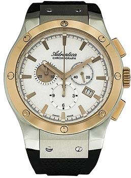 Швейцарские наручные  мужские часы Adriatica 8209.2213CH. Коллекция Chronograph