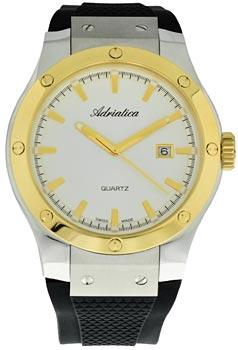 Швейцарские наручные  мужские часы Adriatica 8209.2213Q. Коллекция Gents