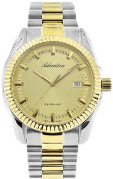 Швейцарские наручные  мужские часы Adriatica 8210.2111Q. Коллекция Gents