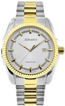 Швейцарские наручные  мужские часы Adriatica 8210.2113Q. Коллекция Gents