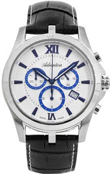 Швейцарские наручные  мужские часы Adriatica 8212.52B3CH. Коллекция Gents
