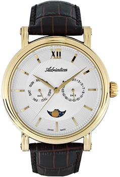 Швейцарские наручные  мужские часы Adriatica 8236.1263QF. Коллекция Multifunction