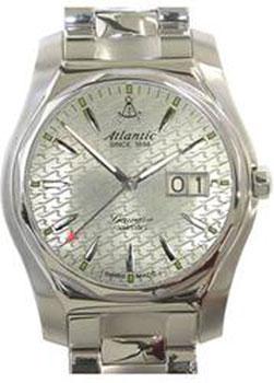 Швейцарские наручные  мужские часы Atlantic 82365.41.41. Коллекция Seawave