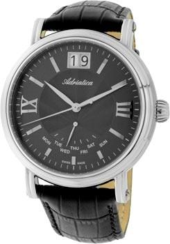 Швейцарские наручные  мужские часы Adriatica 8237.5266Q. Коллекция Gents