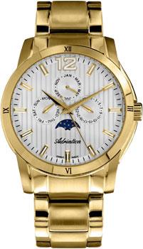 Швейцарские наручные  мужские часы Adriatica 8240.1153QF. Коллекция Multifunction