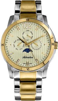 Швейцарские наручные  мужские часы Adriatica 8240.2151QF. Коллекция Multifunction