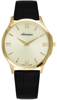 Швейцарские наручные  мужские часы Adriatica 8241.1261Q. Коллекция Gents