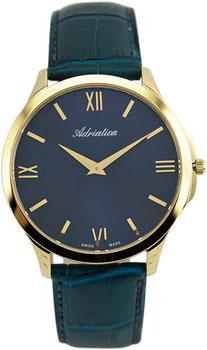 Швейцарские наручные  мужские часы Adriatica 8241.1265Q. Коллекция Gents