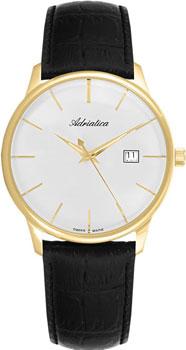 Швейцарские наручные  мужские часы Adriatica 8242.1213Q. Коллекция Gents