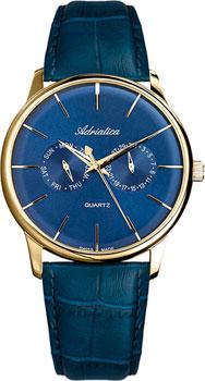Швейцарские наручные  мужские часы Adriatica 8243.1215QF. Коллекция Multifunction