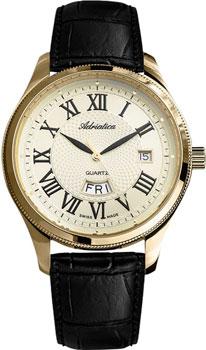 Швейцарские наручные  мужские часы Adriatica 8244.1231Q. Коллекция Gents