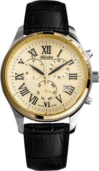Швейцарские наручные  мужские часы Adriatica 8244.2231CH. Коллекция Chronograph