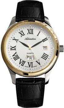 Швейцарские наручные  мужские часы Adriatica 8244.2233Q. Коллекция Gents