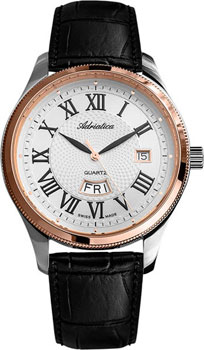 Швейцарские наручные  мужские часы Adriatica 8244.R233Q. Коллекция Gents