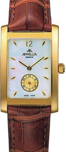 Мужские наручные швейцарские часы в коллекции Gold Appella Appella