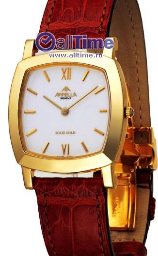 Женские наручные швейцарские часы в коллекции Gold Appella Appella