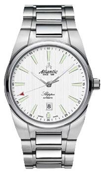 Швейцарские наручные  мужские часы Atlantic 83365.41.11. Коллекция Skipper