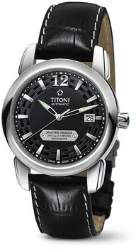 Швейцарские наручные  мужские часы Titoni 83588-S-ST-296. Коллекция Master Series