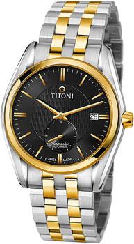 Швейцарские наручные  мужские часы Titoni 83709-SY-501. Коллекция Airmaster