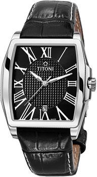 Швейцарские наручные  мужские часы Titoni 83727-S-ST-315. Коллекция WallStreet