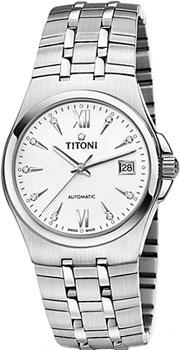 Швейцарские наручные  мужские часы Titoni 83730-S-271. Коллекция Impetus