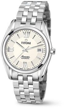 Швейцарские наручные  мужские часы Titoni 83909-S-342. Коллекция Airmaster