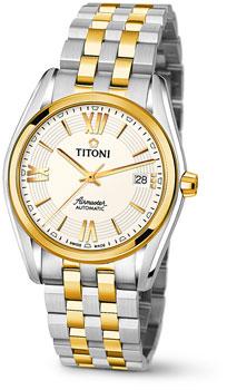 Швейцарские наручные  мужские часы Titoni 83909-SY-342. Коллекция Airmaster