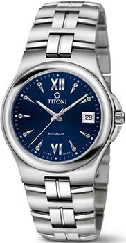 Швейцарские наручные  мужские часы Titoni 83930-S-272. Коллекция Impetus