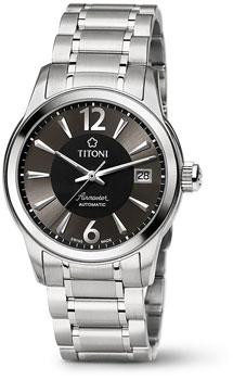 Швейцарские наручные  мужские часы Titoni 83933-S-324. Коллекция Airmaster