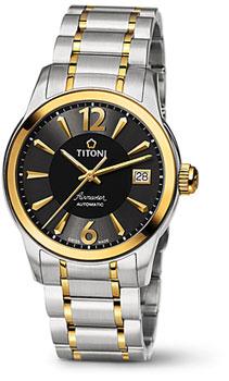 Швейцарские наручные  мужские часы Titoni 83933-SY-324. Коллекция Airmaster