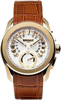 Швейцарские наручные  мужские часы Bentley 84-15765. Коллекция Premier Ocean Retrograde