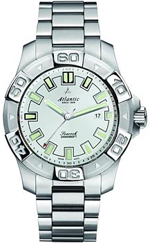 Швейцарские наручные  мужские часы Atlantic 87375.41.21. Коллекция Searock