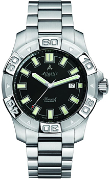 Швейцарские наручные  мужские часы Atlantic 87375.41.61. Коллекция Searock