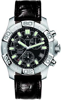 Швейцарские наручные  мужские часы Atlantic 87470.41.61. Коллекция Searock