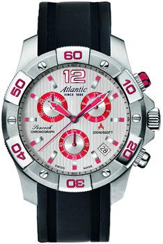 Швейцарские наручные  мужские часы Atlantic 87471.42.25R. Коллекция Searock