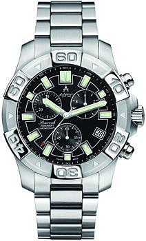Швейцарские наручные  мужские часы Atlantic 87475.41.61. Коллекция Searock