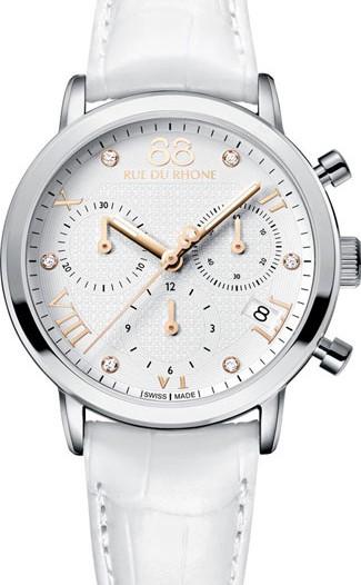 Женские наручные швейцарские часы в коллекции Double 8 Origin 88 Rue Du Rhone