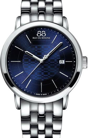 Мужские наручные швейцарские часы в коллекции Double 8 Origin 88 Rue Du Rhone