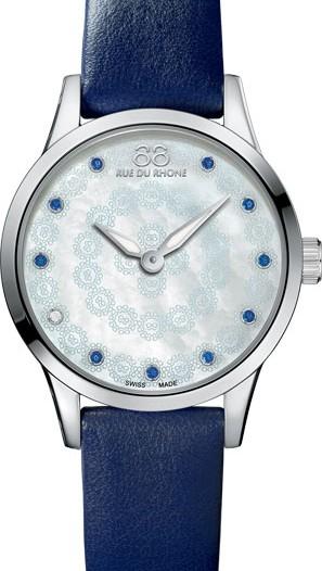 Женские наручные швейцарские часы в коллекции Rive 88 Rue Du Rhone