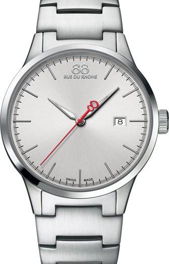 Мужские наручные швейцарские часы в коллекции Rive 88 Rue Du Rhone