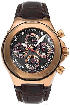 Швейцарские наручные  мужские часы Girard Perregaux 90190-52-231-BBED