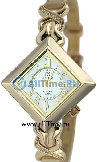 Женские наручные золотые часы в коллекции Ирис Ника