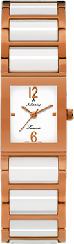 Швейцарские наручные  женские часы Atlantic 92045.59.15. Коллекция Searamic
