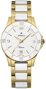 Швейцарские наручные  женские часы Atlantic 92345.55.15. Коллекция Searamic